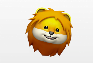 Animoji lion ios 11-3