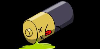 Defekt batteri