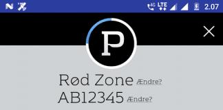 MobilePay er blevet integreret i ParkOne-applikationen (Kilde: Google Play)