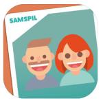 """Screenshots fra mobilspillet """"Samspil"""" (Kilde: App Store)"""