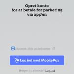 MobilePay er blevet integreret i ParkOne-applikationen (Kilde: MereMobil.dk)