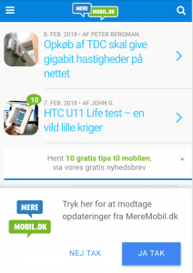 Notifikationer Android