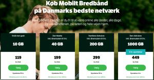 YouSee priser mobilt bredbånd 110218