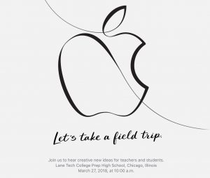Apple marts 2018 event