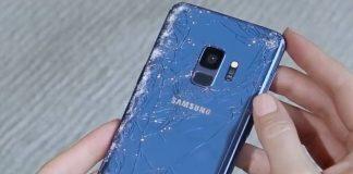 Galaxy S9 broken
