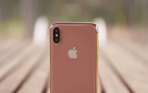 iPhone X i Blush Gold? (Kilde: Benjamin Geskin)