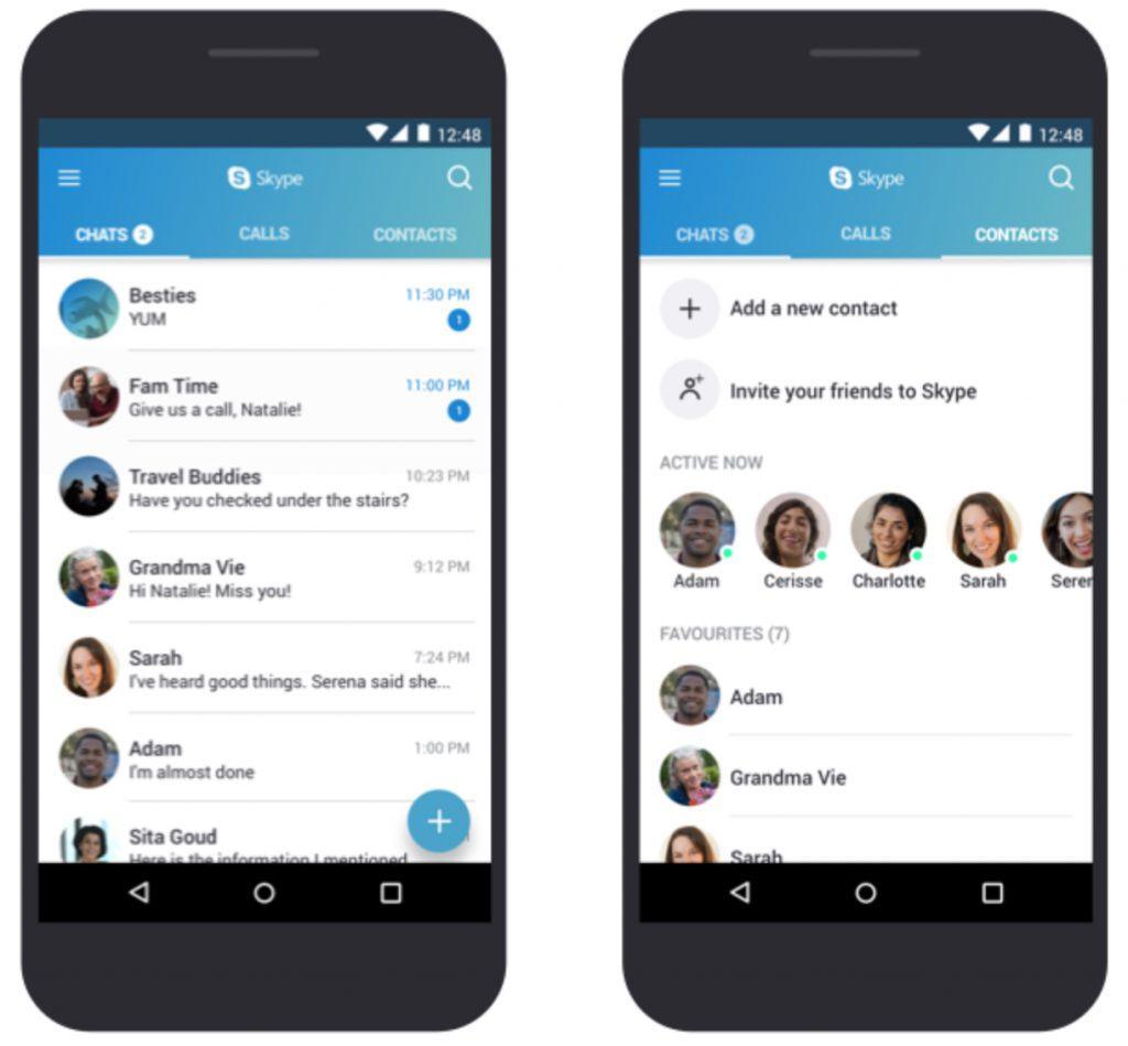 Skype optimeres nu til billige smartphones » MereMobil dk
