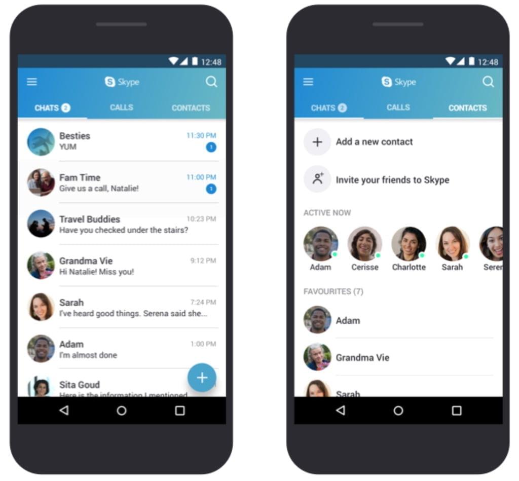 Skype optimeres nu til billige smartphones