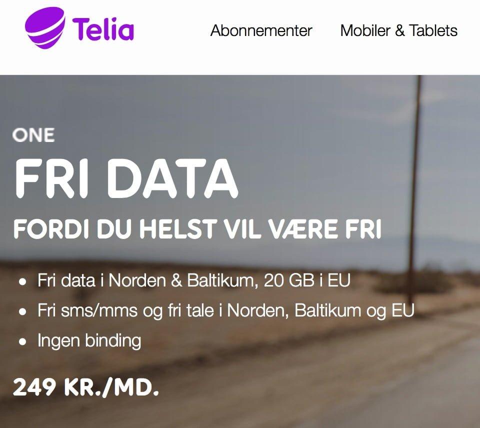 841f12e6 Telia: Du får fri data, men skal betale for Spotify