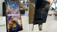 """RYGTE: """"Nokia X"""" får efter alt at dømme et """"hak"""" i toppen af skærmen."""
