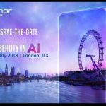 Invitation til Honor-event (formentlig Honor 10) i London tirsdag den 15. maj 2018 (Kilde: Android Guys)