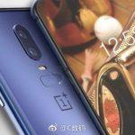 OnePlus 6 i blå (Kilde: Gizmochina)