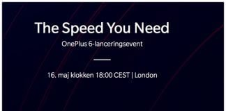 OnePlus 6 Launch Event