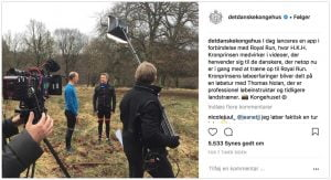 Royal Run på Instagram