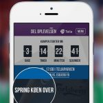 Screenshots fra Telia Parken Live applikationen (Kilde: Google Play Store)
