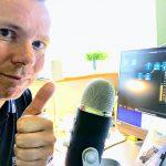 Optagelse af MereMobil.dk tech-podcast