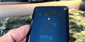 HTC U12+ i Translucent Blue