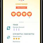 Bedste venner Pokémon GO