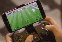 Stream spil på mobil