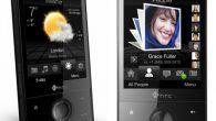 TILBAGEBLIK: HTC Touch Diamond fik i 2008 en fantastisk modtagelse. Flot design og 3D-animeret brugerflade med vejrudsigter gjorde indtryk.
