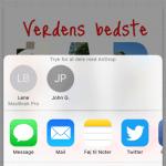 "Screenshots fra applikationen ""Phonto"" (Foto: MereMobil.dk)"