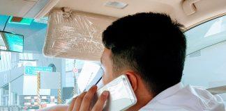 Brug af smartphone i bil