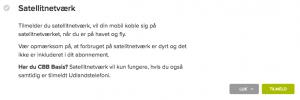 CBB sattelit tilmelding til service (Foto MereMobil.dk)