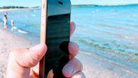Badevandstemperaturen kan tjekkes på smartphonen. Her er den bedste app, når du skal vide om det er strandvejr.