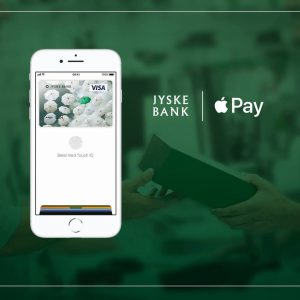 Jyske Bank klar med Apple Pay (Foto: Jyske Bank - Facebook)