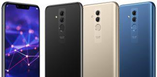 Lækket billede af det der ventes at være Huawei Mate 20 Lite (Kilde: EvLeaks)