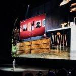 Daniel Ek, CEO, Spotify, præsenterer samarbejdet med Samsung