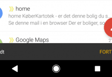 Fortryd Gmail
