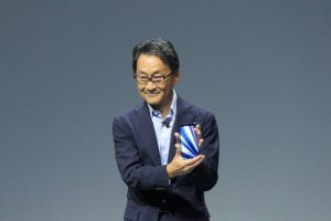 Mitsuya Kishida Sony Xperia XZ3