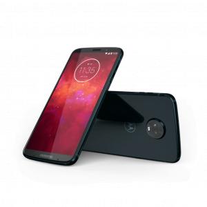 Moto Z3 Play i farven Deep Indigo (Foto: Motorola)