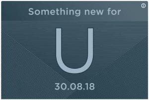 HTC teaser for ny lancering torsdag den 30. august 2018 (Kilde: Twitter)
