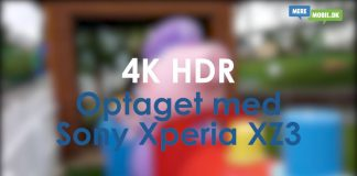 Sony Xperia XZ3 4K HDR demo