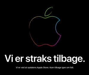 Apple Store nede