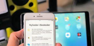 Nyheder i Beskeder på iOS 12