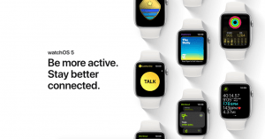Apple Watch med watchOS 5 (Foto: Apple)