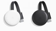 En ny Chromecast er klar. Chromecast (tredje generation) har kraftigere hardware, men understøtter ikke 4K-afspilning.
