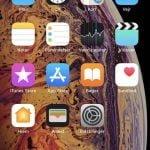 Skærmbillede fra iPhone Xs Max