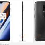 OnePlus 6T i Midnight Black (Kilde: GSMArena.com)