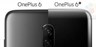 OnePlus 6 vs. OnePlus 6T (Kilde: GSMArena.com)