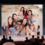 Group Selfie med Pixel 3-telefonerne