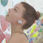 Trådløse støjeliminerede hovedtelefoner til sport - WF-SP700N (Foto: Sony)