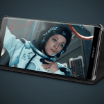 Interaktivt cover og holder SCSH70 til Sony Xperia XZ3 (Foto: Sony)