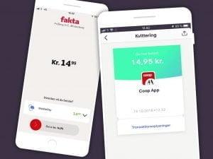 Coop byder MobilePay indenfor (Foto: MobilePay)