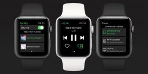Spotify klar på Apple Watch (Foto: Spotify)