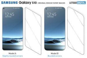 Galaxy S10 patentdesign