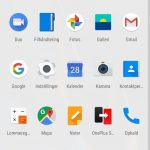Skærmbillede fra OnePlus 6T